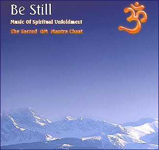 Meditation music CD - 'Be Still'